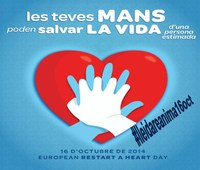 European Day of Cardiac Arrest Awareness the 16th Thursday in Lleida