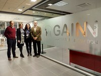 The company GAINN is installed on the Science Park